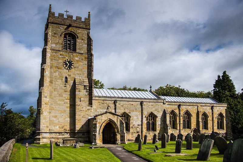St Andrew's Church, Kirkby Malzeard