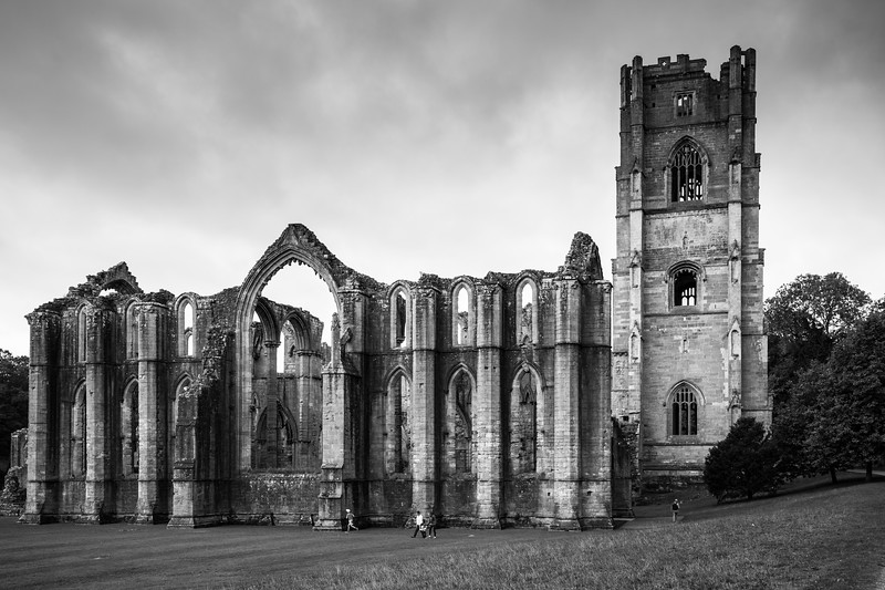 Foiuntains Abbey, North Yorkshire