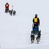 2013 Mid-Minnesota 150 - Teri Gapinski followed by Linus Meyer crossing Windy Lake