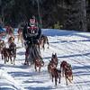 Adam Moore, Clayton Schneider and Brenden Schneider along the trail near Bear Head Lake State Park
