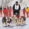 Bill Wehseler's 10-dog team near the start of the 2013 WolfTrack Classic