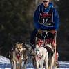 Curtis Craig along the trail near Bear Head Lake State Park