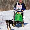 Leanne Bergen along the trail near Sassas Road crossing