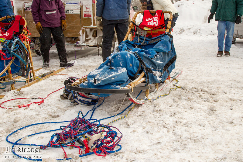 Alice White's 2014 John Beargrease Mid-Distance sled