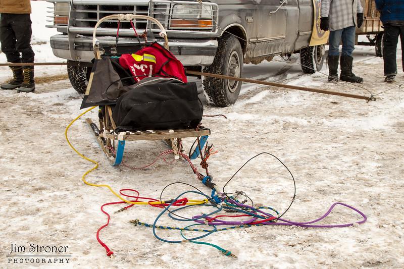 Andrew Heskin's 2014 John Beargrease Mid-Distance sled