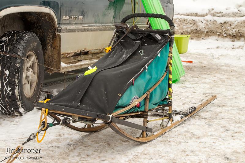 Billie Diver's 2014 John Beargrease Mid-Distance sled
