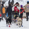 Billie Diver at start of 2014 John Beargrease Mid-Distance race