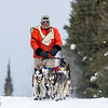 Billy Snodgrass near the Hwy 2 checkpoint during the 2014 John Beargrease Marathon race