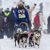 Blake Freking at start of 2014 John Beargrease Marathon race