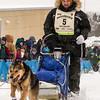 Denis Tremblay at start of 2014 John Beargrease Marathon race