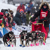 Erin Altermus at start of 2014 John Beargrease Mid-Distance race