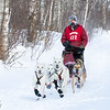 Frank Holmberg near Tofte at the 2014 John Beargrease Mid-Distance race