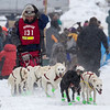 Jerry Papke at start of 2014 John Beargrease Mid-Distance race