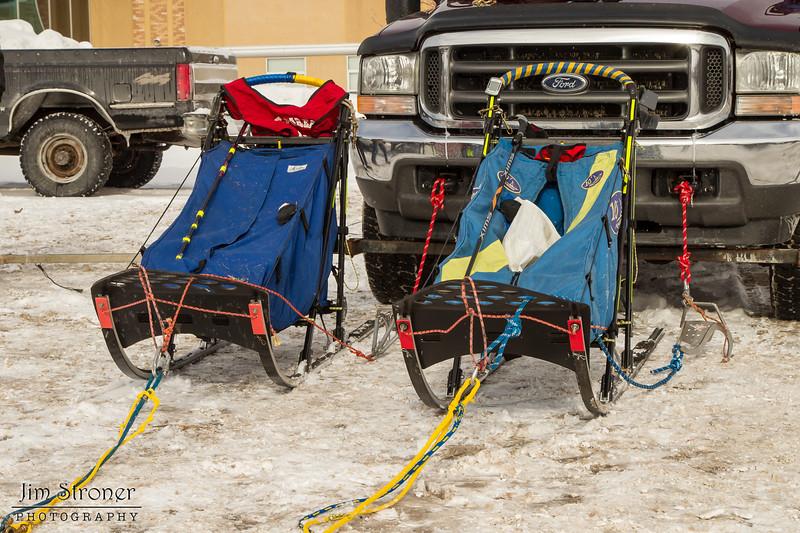 Ross Fraboni and Joshua Compton's 2014 John Beargrease Mid-Distance sleds