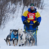 Joshua Compton near Tofte at the 2014 John Beargrease Mid-Distance race