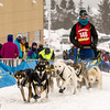 Joshua Compton at start of 2014 John Beargrease Mid-Distance race