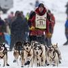 Keith Aili at start of 2014 John Beargrease Marathon race
