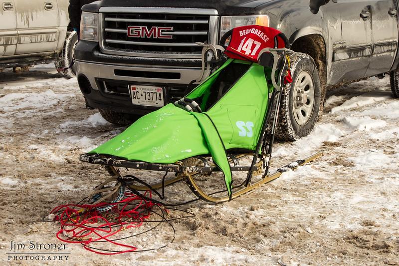 Leanne Bertgen's 2014 John Beargrease Mid-Distance sled