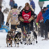 Martha Schouweiller at start of 2014 John Beargrease Mid-Distance race