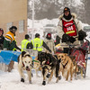 Michael Bestgen at start of 2014 John Beargrease Mid-Distance race