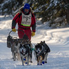 Peter McClelland near Laine road crossing during the 2014 John Beargrease Marathon race