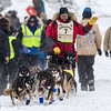 Nathan Schroeder at start of 2014 John Beargrease Marathon race