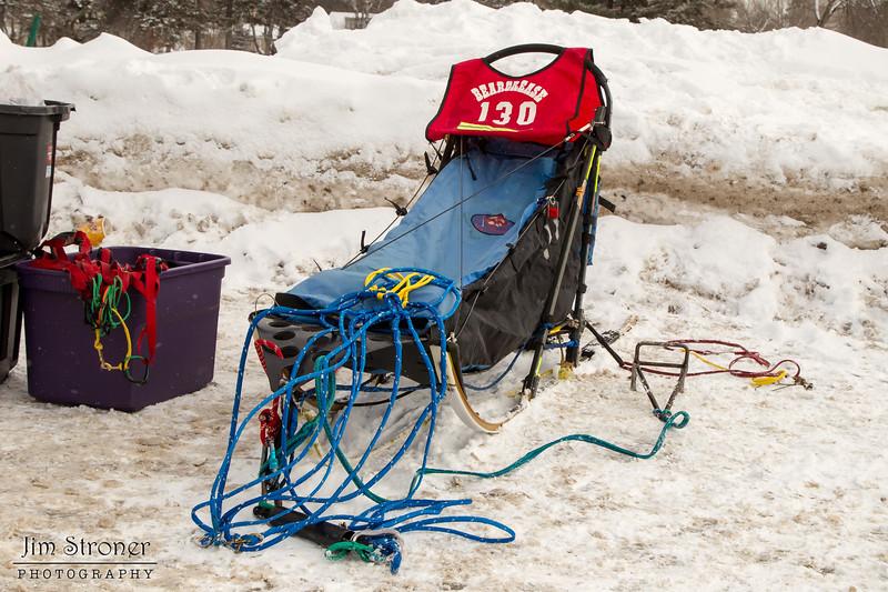 Alex LaPlante's 2014 John Beargrease Mid-Distance sled