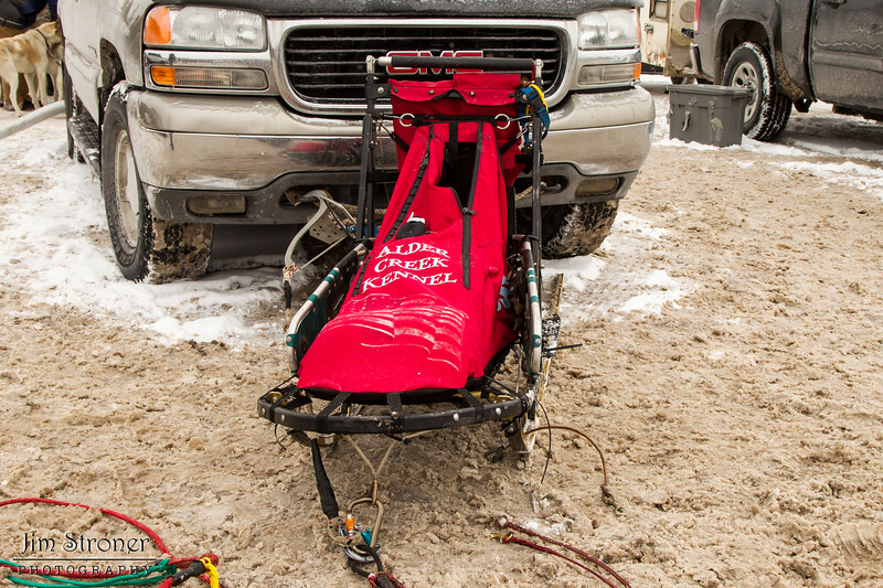 Jerry Papke's 2014 John Beargrease Mid-Distance sled