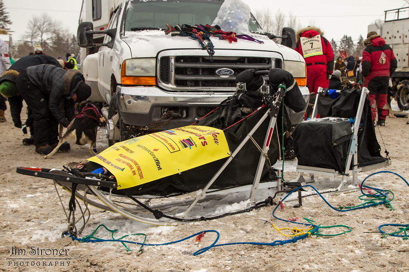 Nathan Schroeder's 2014 John Beargrease Marathon sled