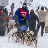 Ross Fraboni at start of 2014 John Beargrease Mid-Distance race