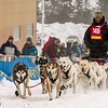 Zach Brown at start of 2014 John Beargrease Mid-Distance race