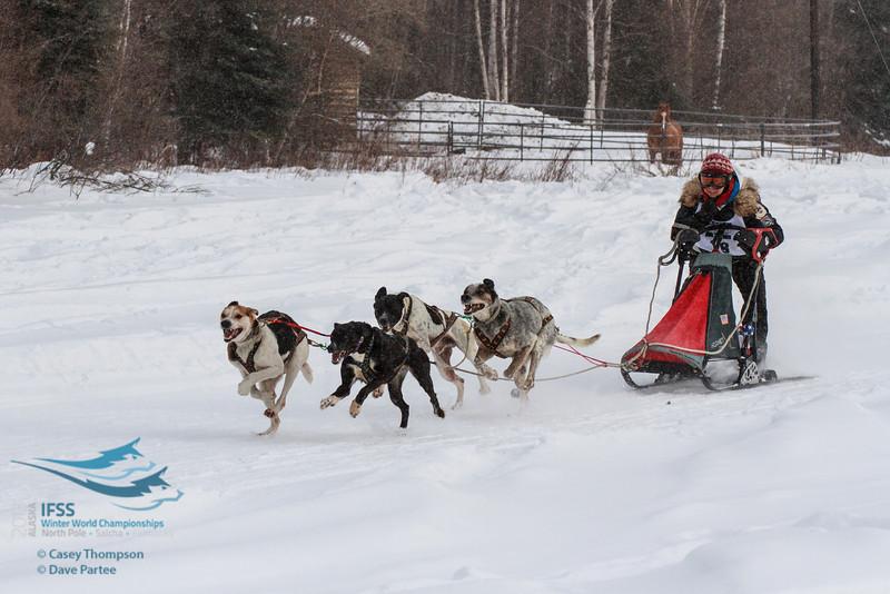 Jennifer Probert Erhart (USA) 4-Dog