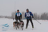 Philip Friedlander (Australia), Andrew Warwick (USA) - 2013 IFSS Men 2-Dog Skijor Day 1