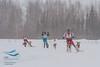 Mike Christman (USA), Samuli Nissenen (Finland), Svein Ivar Moen (Norway) - 2013 IFSS Men 2-Dog Skijor Day 1