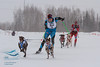Samuli Nissenen (Finland), Svein Ivar Moen (Norway) - 2013 IFSS Men 2-Dog Skijor Day 1