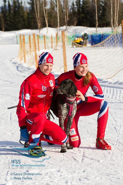 Yvette Hoel (Norway), Yngve Hoel (Norway)