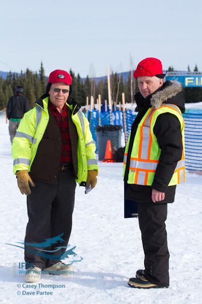 Buzz Otis - NPEDC, Steinar Johansen - IFSS Official