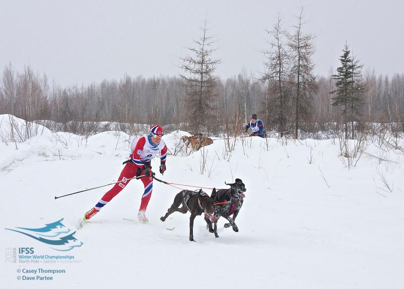 Yvette Hoel (Norway), Kriya Dunlap (USA)<br /> ifss13-2553