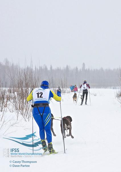Sara Johansson (Sweden), Stephanie Dwyer (USA)<br /> ifss13-2204