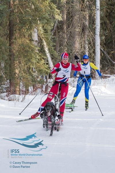 Yvette Hoel (Norway), Sara Johansson (Sweden)