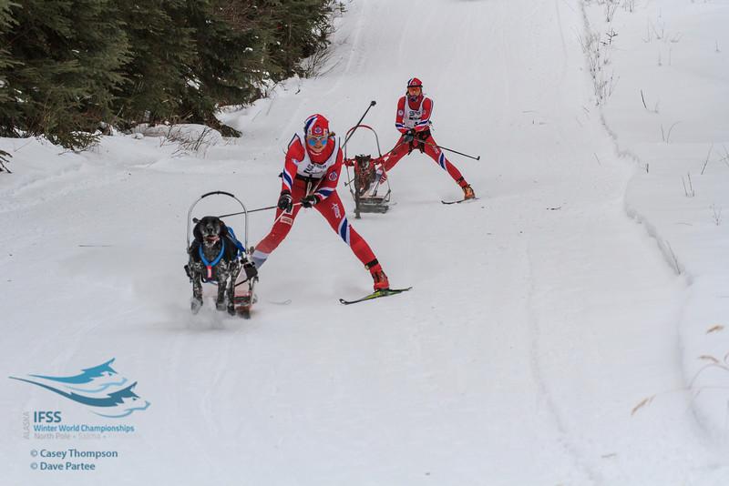 Yvette Hoel (Norway), Susannah Kelly (Norway)