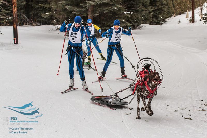 Marika Tiiperi (Finland), Kati Mansikkasalo (Finland), Sara Johansson (Sweden)