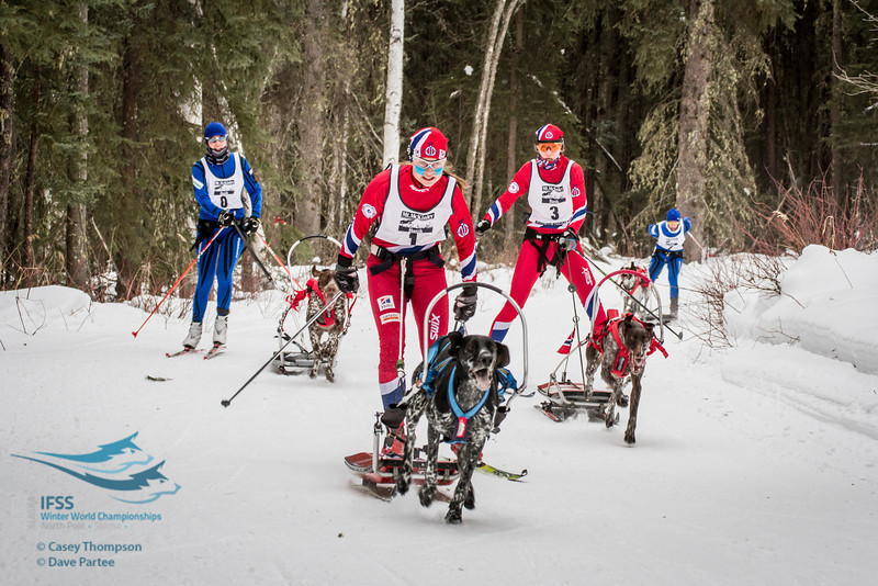 Yvette Hoel (Norway), Susannah Kelly (Norway), Kati Mansikkasalo (Finland), Marika Tiiperi (Finland)