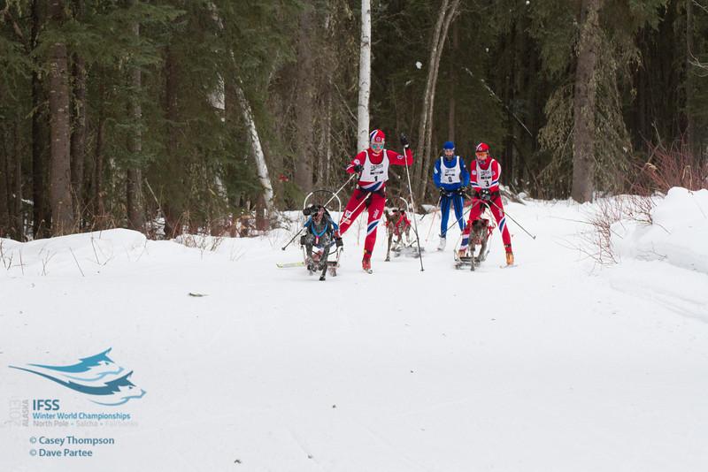 Yvette Hoel (Norway), Susannah Kelly (Norway), Kati Mansikkasalo (Finland)