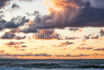 Lake Michigan sunset: Manistee, Michigan