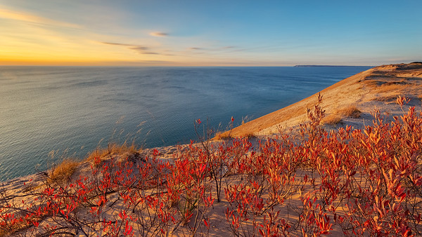 Sleeping Bear Dunes Fall Colors