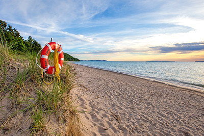 Van's Beach: Leland, Michigan