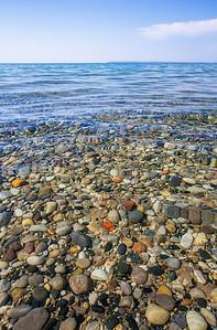 Sleeping Bear Bay and Lake Michigan: Glen Arbor, Michigan
