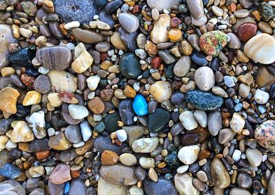Leland Bluestone on Van's Beach: Leland, Michigan