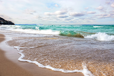 Van's Beach: Leland, Michigan